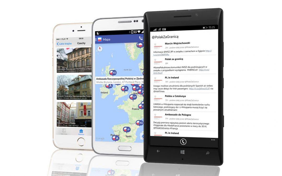 W zagranicznych podróżach korzystaj z pomocy bezpłatnej aplikacji iPolak