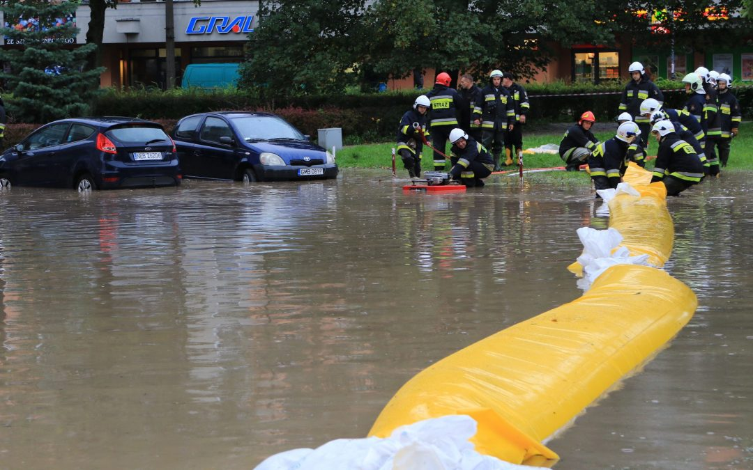 Niebezpieczna sytuacja meteorologiczna na południu Polski