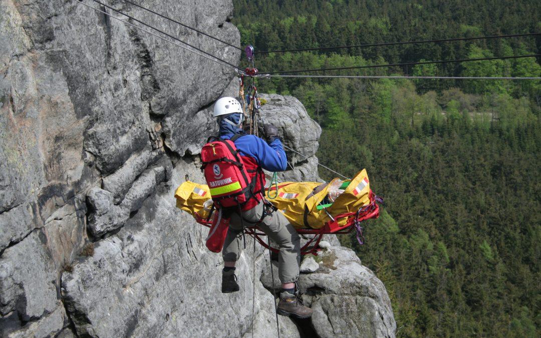 Aplikacja Ratunek pomaga w górach i nad wodą