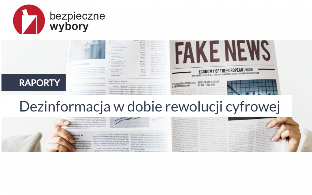 BezpieczneWybory.pl walczą z dezinformacją