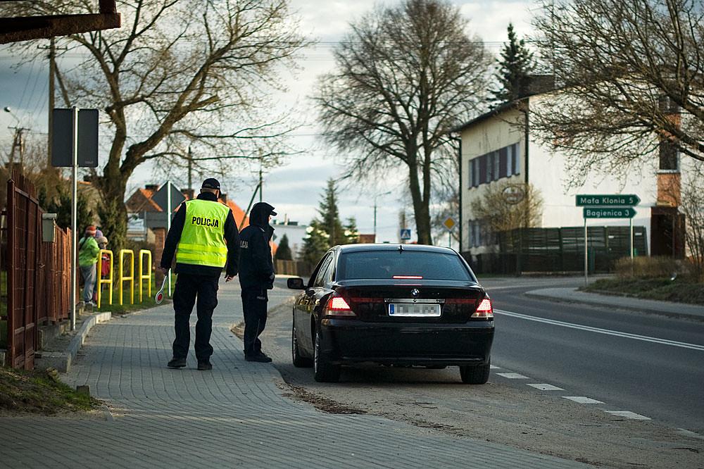 Nowe uprawnienia policji podczas kontroli drogowej