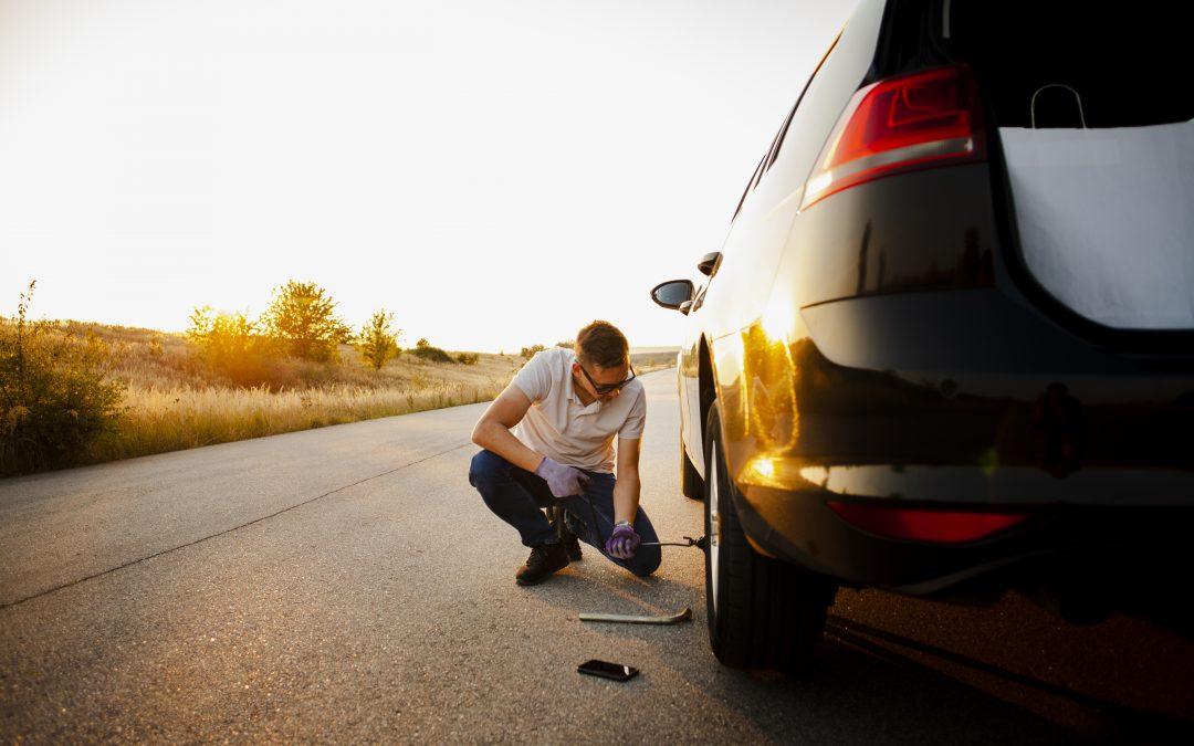 """Metoda """"na kolec"""" kolejnym sposobem na okradanie kierowców"""