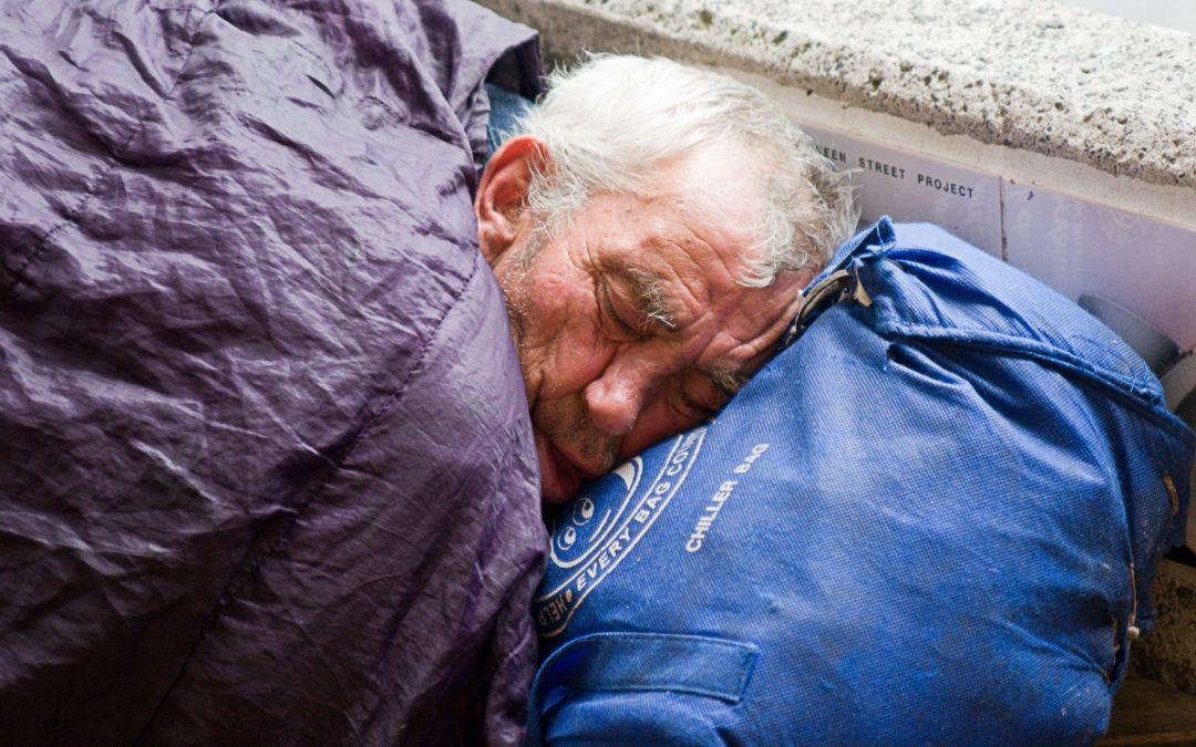 """Trwa akcja """"Trochę ciepła dla bezdomnego"""""""