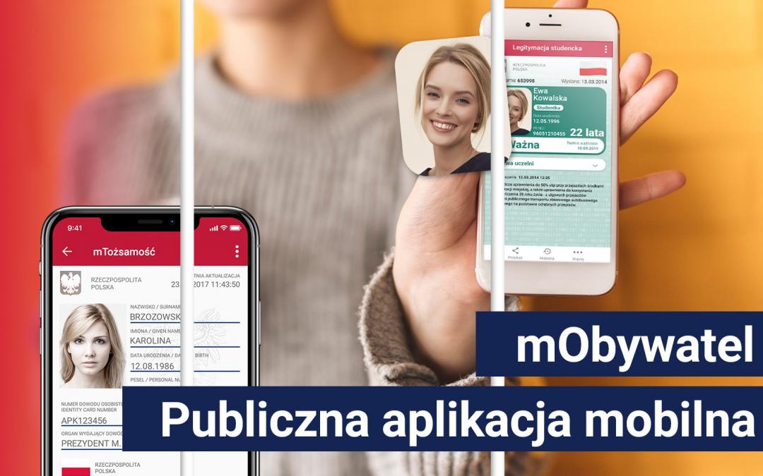 Aplikacja mObywatel – elektroniczne dokumenty, recepty oraz pomoc dla Polaków za granicą