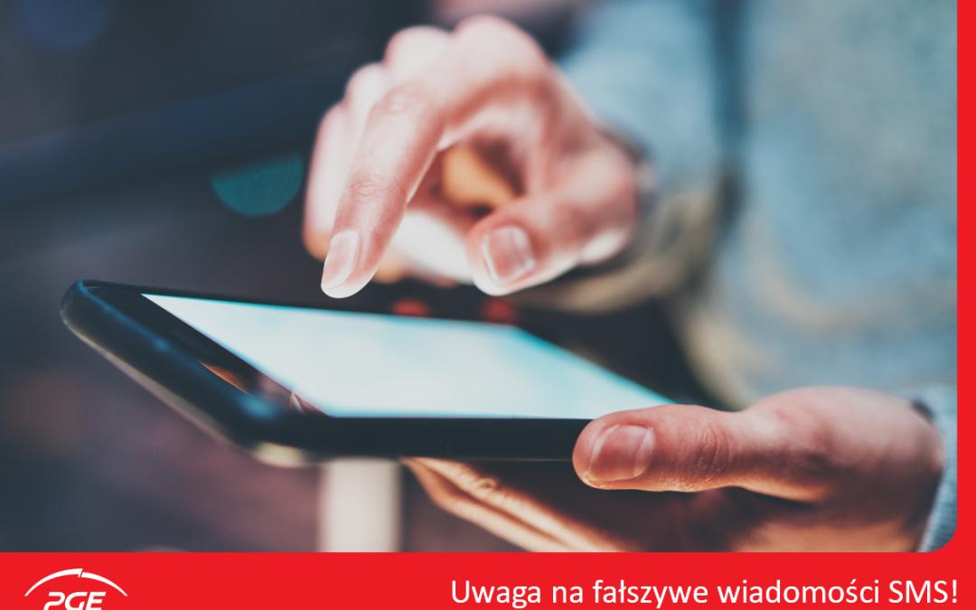 PGE ostrzega przed fałszywymi SMS-ami