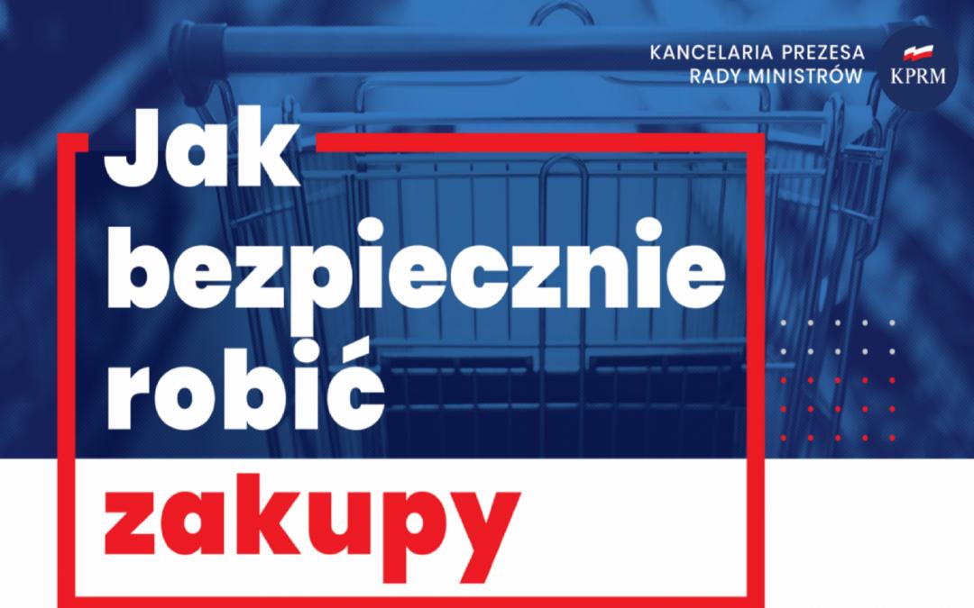 KPRM przygotowała serię plakatów informacyjnych dot. koronawirusa