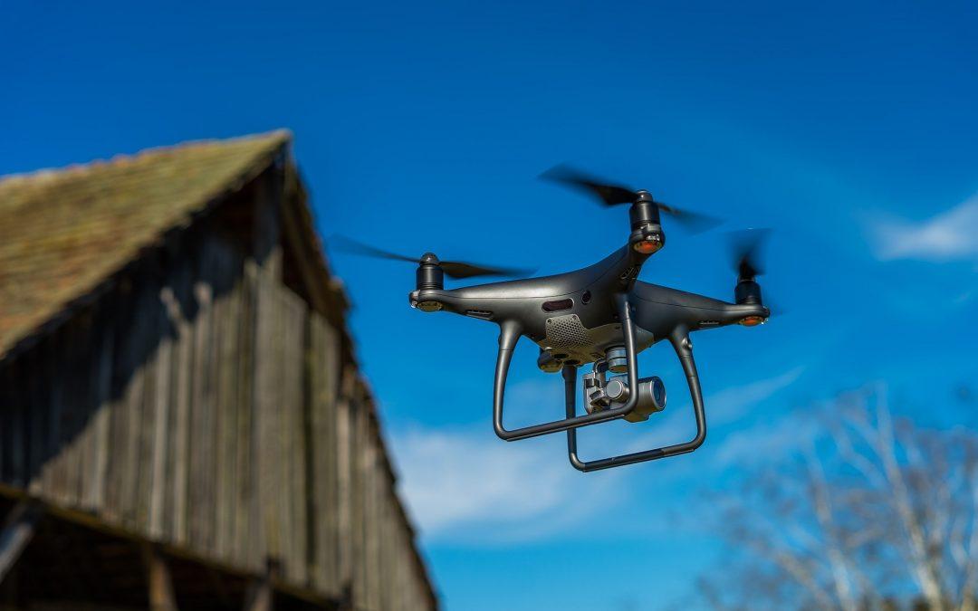 """Nowa metoda złodziei: kradną """"na drona"""""""