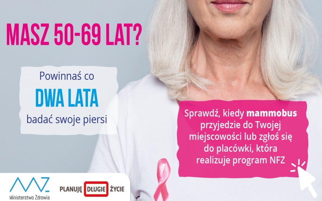 W trasę po Polsce wyruszyły mammobusy