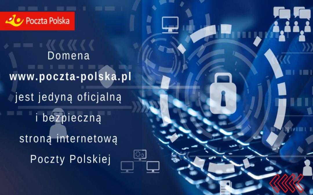 Poczta Polska ostrzega przed fałszywymi stronami www